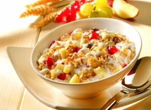 cereales y avena Desayuno saludable