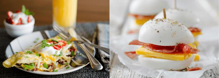 Desayunos con proteínas