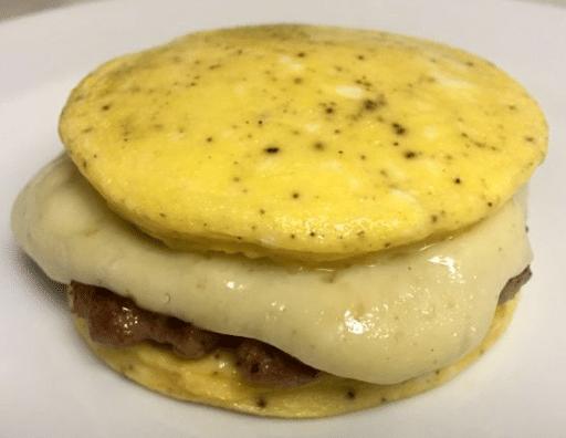 Eggwich con queso